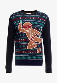 edc by Esprit - CHRISTMAS - Jumper - navy - 4