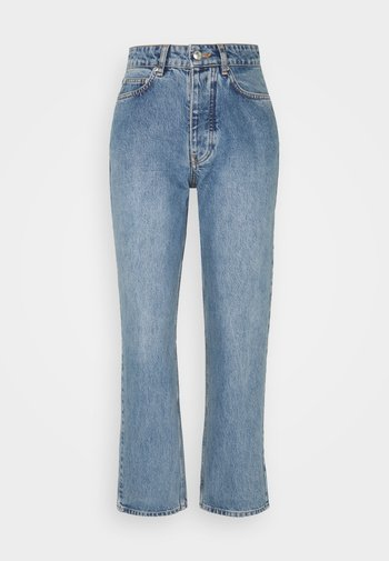 PEARL  - Jeans a sigaretta - distressed blue