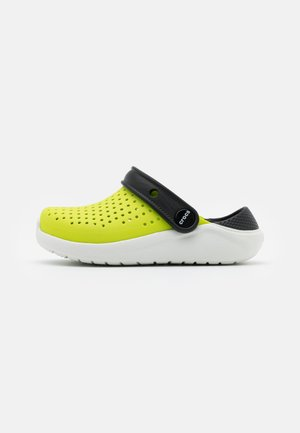 LITERIDE UNISEX - Badslippers - lime punch/black