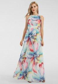 Apart - Robe longue - mint-multicolor - 1