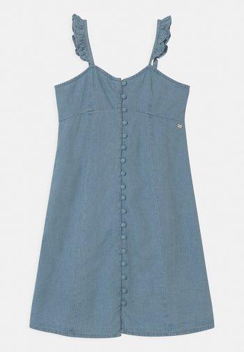 ADALINE - Denim dress - light blue