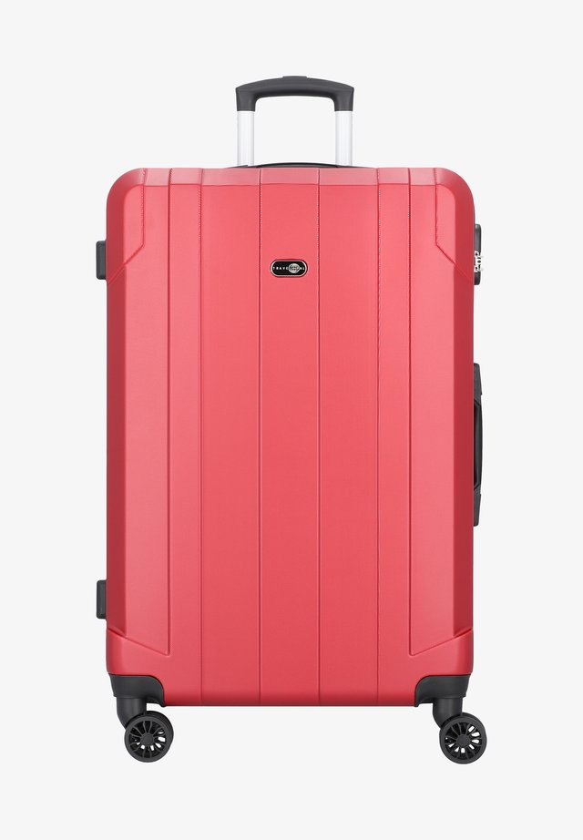 DOPPELROLLEN - Wheeled suitcase - red