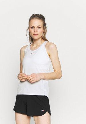REGULAR FABRIC MIX TANK - Funkční triko - optic white