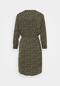 Selected Femme Petite - SLFMETHA DAMINA DRESS PETITE - Kjole - winter moss - 1