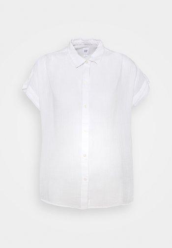 DRAPEY - Button-down blouse - optic white