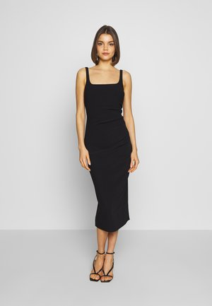 PALOMA MIDI DRESS - Jersey dress - black