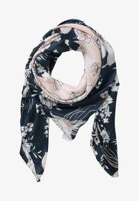 Betty Barclay - MIT AUFDRUCK - Foulard - dark blue-rosé - 1