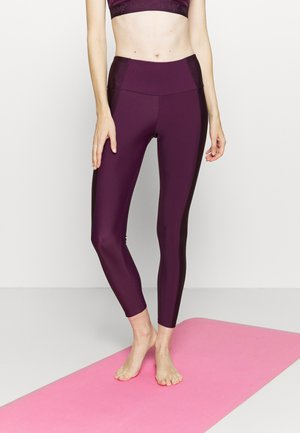 SHINE ON LEGGING - Medias - purple