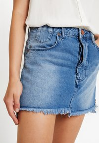 One Teaspoon - HOLLYWOOD MID RISE RELAXED MINI SKIRT - A-linjainen hame - hollywood - 3