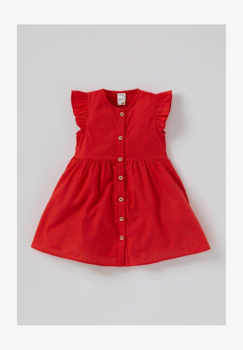 DeFacto - Shirt dress - red