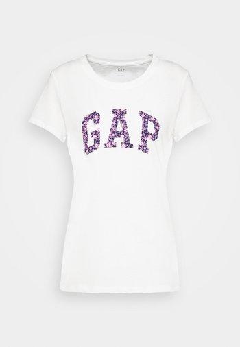 TEE - T-shirts med print - milk