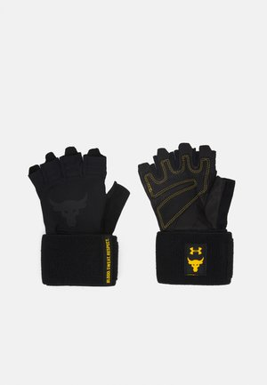 PROJECT ROCK TRAINING - Fingerless gloves - black