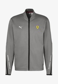 Puma - SCUDERIA FERRARI - Zip-up hoodie - medium gray heather - 3