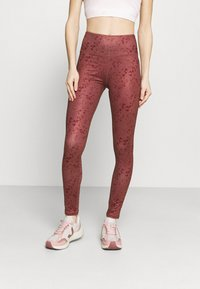 South Beach - LEGGING  - Medias - rose brown - 0