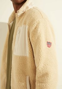 Guess - Fleece jacket - beige - 3