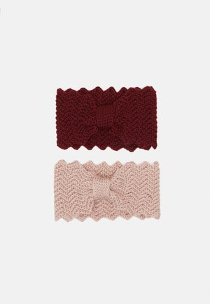 Cache-oreilles - light pink/bordeaux
