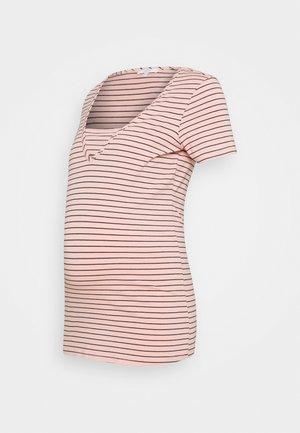 TEE DILLON - Print T-shirt - rose tan
