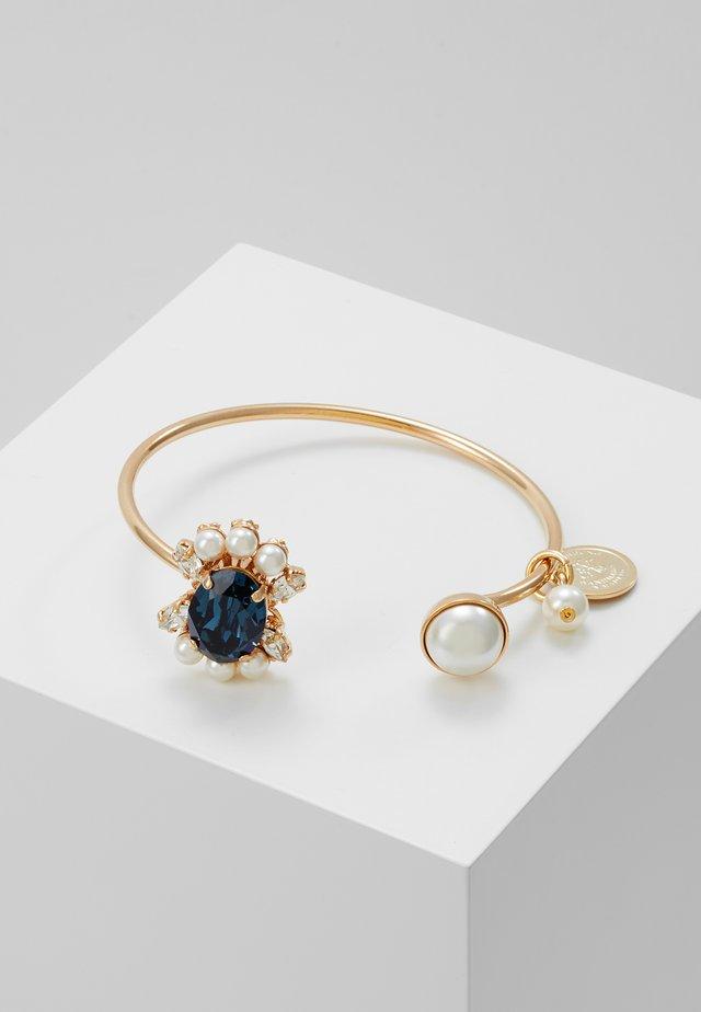 Armband - cream/blue