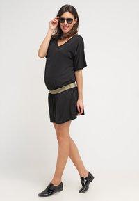 Envie de Fraise - DANNYOR - Sukienka z dżerseju - black - 1