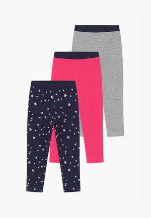 GIRLS STYLE 3 PACK - Leggings - pink