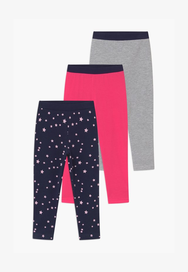 GIRLS STYLE 3 PACK - Leggings - Trousers - pink