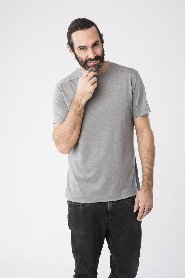 HIGHWOOD - Basic T-shirt - grey
