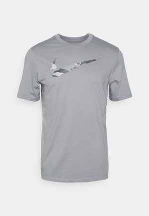 TEE CAMO FILL - T-shirts print - particle grey