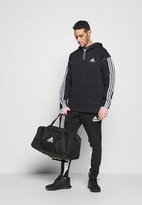 adidas Performance - AEROREADY  - Hoodie - black/white - 1
