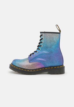1460 - Lace-up ankle boots - purple rainbow ray
