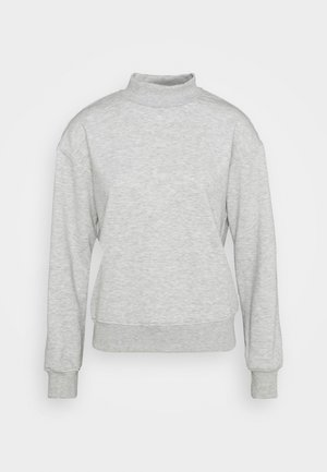 HIGH NECK  - Sweatshirt - grey melange