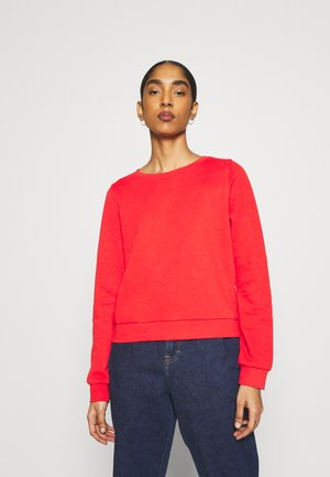 ONLWENDY ONECK - Sweatshirt - high risk red