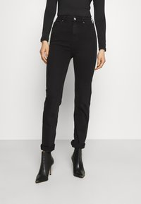 Marks & Spencer London - SOPHIA - Jeansy Straight Leg - black denim - 0