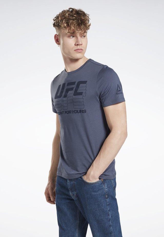 UFC - T-shirt imprimé - blue