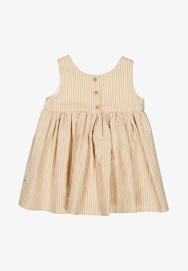 Day dress - taffy stripe