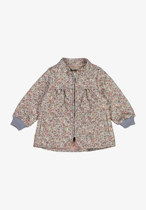 Light jacket - dusty dove flowers