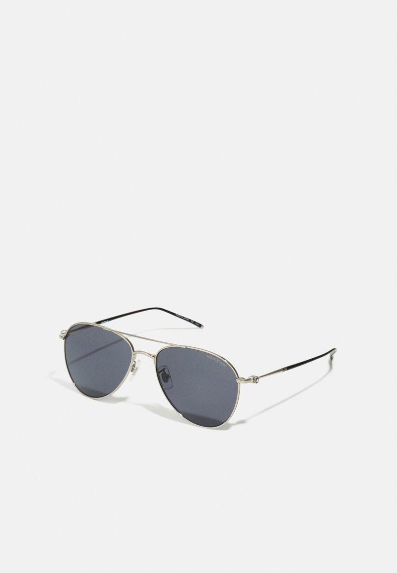 Mont Blanc - Sunglasses - silver-coloured/grey