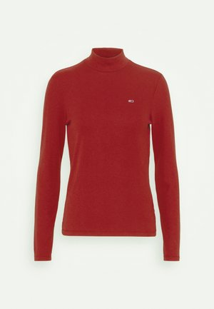 MOCK NECK LONGSLEEVE - Long sleeved top - wine red