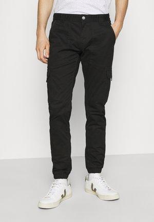 SCANTON  PANT - Cargo trousers - black