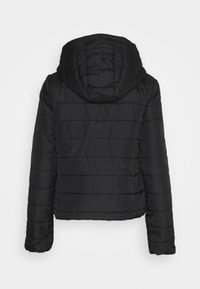 Vero Moda - VMSIMONE HOODY SHORT JACKET - Light jacket - black