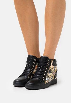 AILANNA - High-top trainers - black/multicolor
