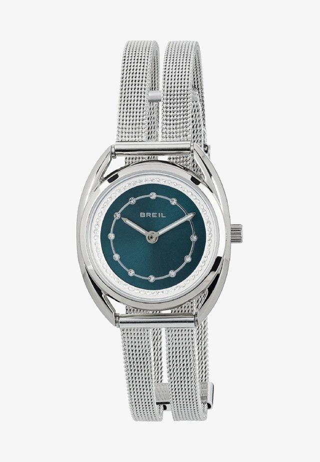 PETIT - Watch - steel/green