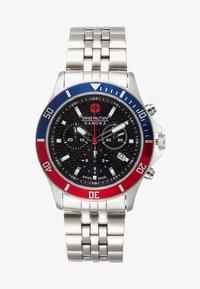 Swiss Military Hanowa - FLAGSHIP RACER - Chronograph watch - black/silver-coloured - 0