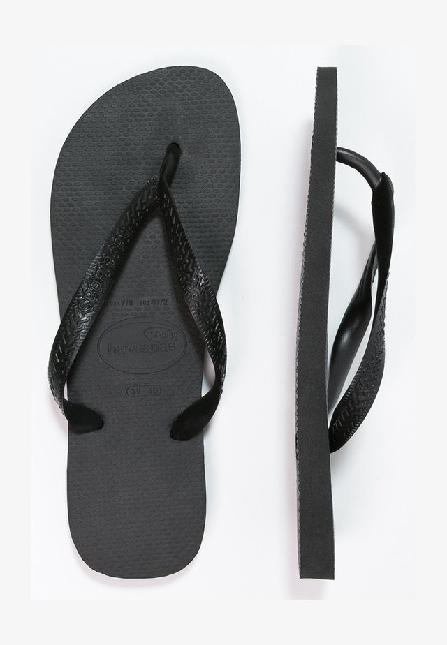 TOP - Chanclas de dedo - schwarz
