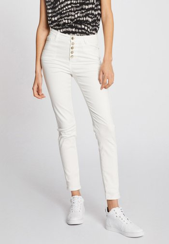 Slim fit jeans - off-white