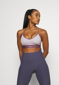Under Armour - INFINITY LOW - Light support sports bra - purple - 0