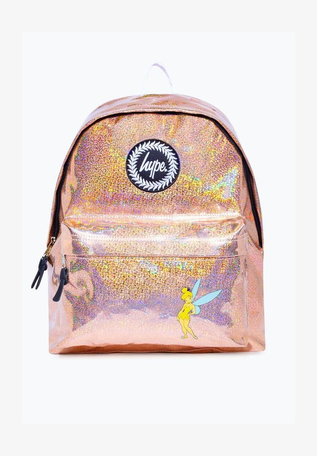DISNEY TINKERBELL BACKPACK - Rugzak - gold