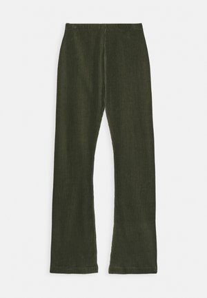 STRETCH CORDUROY LONINA - Broek - forest night