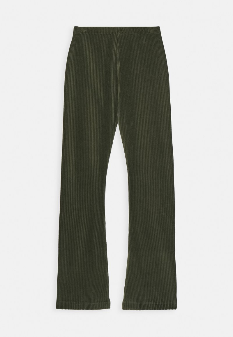 Mads Nørgaard - STRETCH CORDUROY LONINA - Stoffhose - forest night