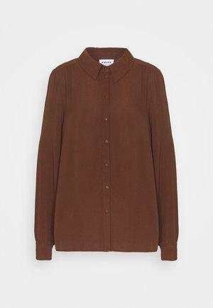 VMNICOLETTE - Button-down blouse - potting soil