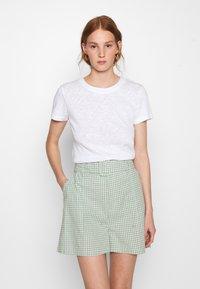 American Vintage - SONOMA - Basic T-shirt - blanc - 0